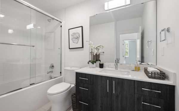 Second-Floor Bathroom at 8569 Mary Ave NW in The Trondheim