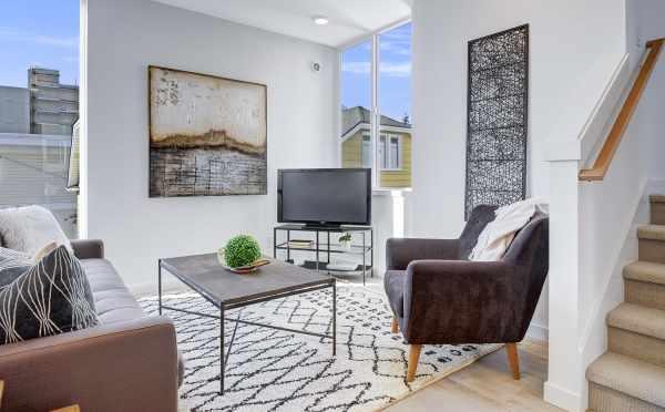 Living Room at 437B NE 73rd St in Verde Towns 1