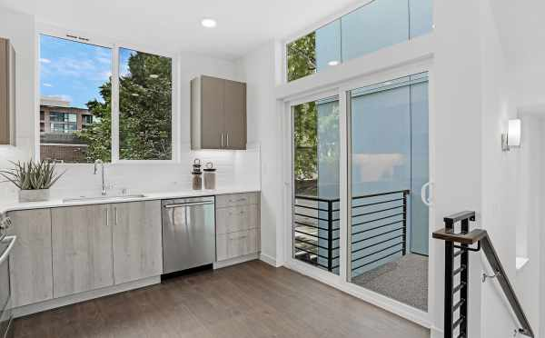 Deck off the Kitchen at 1724B 11th Ave
