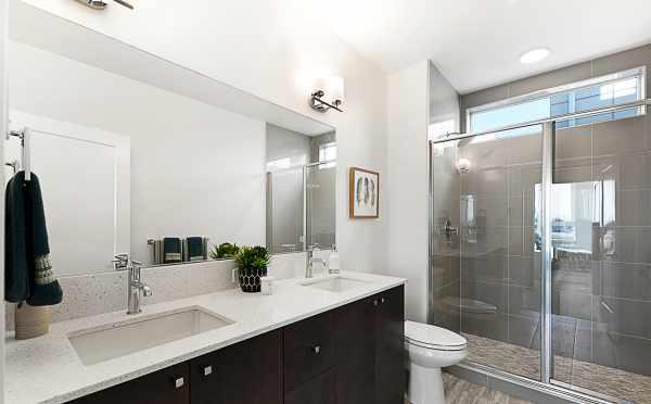 Master Bathroom in 7530B 15th Ave NW, Live-Work Unit in Talta Ballard