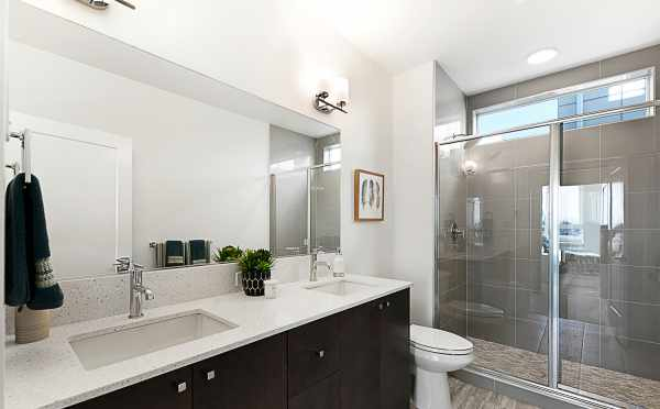 Master Bathroom in 7530B 15th Ave NW, Live-Work Unit in Talta Ballard