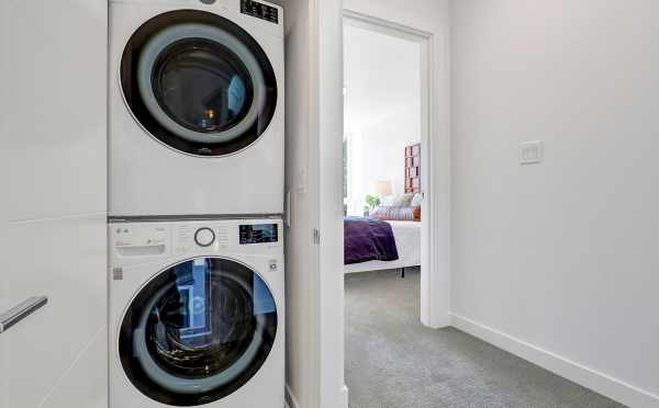Laundry Area at 8505 16th Ave NW in the Alina Townhomes