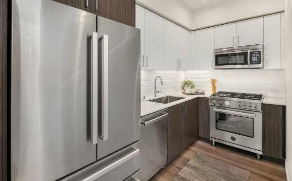 Kitchen at 6539F 4th Ave NE