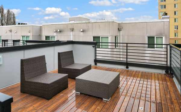 Roof Deck at 1541B 14th Ave
