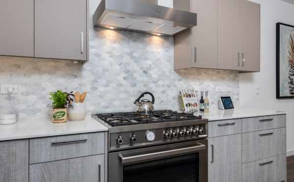 Stainless Steel Appliances in the Kitchen at 11518A NE 87th St