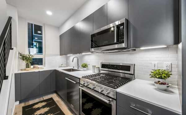 Kitchen at 8509B 16th Ave NW