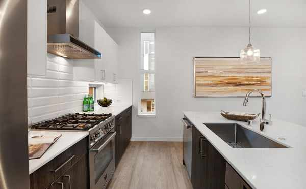 Stainless Steel Appliances in the Kitchen of 807 N 47th St