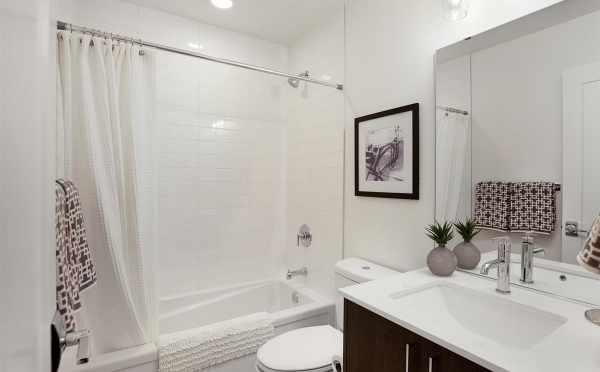 First Bathroom at 809B N 47th St
