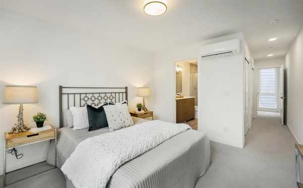 Master Bedroom and Bath at 449 NE 73rd St in the Verde Towns 2 in Green Lake