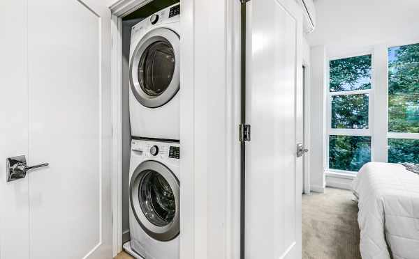 Laundry Area at 3803 23rd Ave W, one of the Walden Townhomes