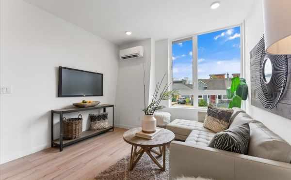 Living Room at 820 NE 63rd St