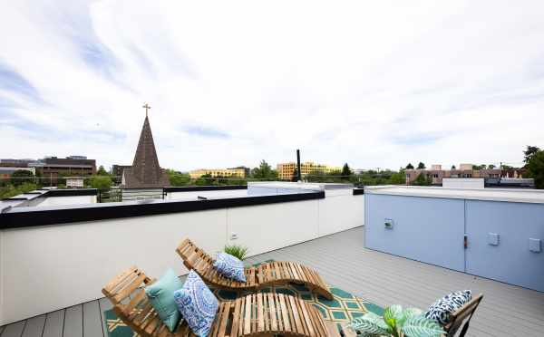 Roof Deck of One of The Wyn Townhomes