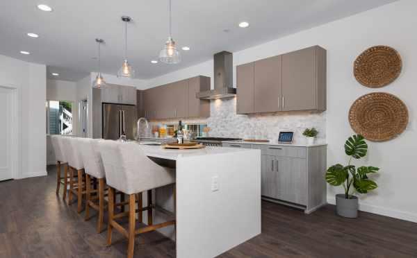 Breakfast Bar in the Kitchen of 11514B NE 87th St