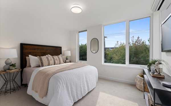 Owner's Suite at 1730C 11th Ave, One of the Altair Townhomes in Capitol Hill