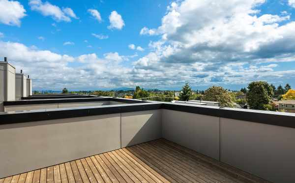 Roof Deck Views at One of the Avani Townhomes