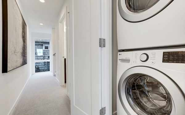 Stackable Washer and Dryer at 500C NE 71st St