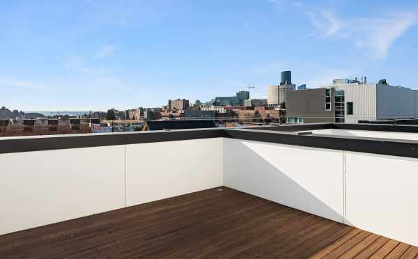 Roof Deck at 1112 13th Avenue in Seattle