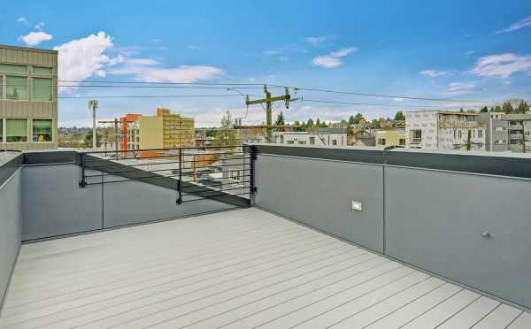 Roof Deck at 503B NE 72nd Street