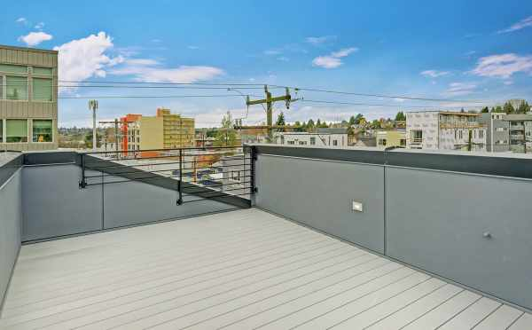 Roof Deck at 503B NE 72nd Street