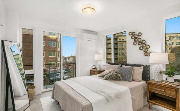 Owner's Suite at 109A 22nd Ave, One of the Thalia Townhomes in Capitol Hill