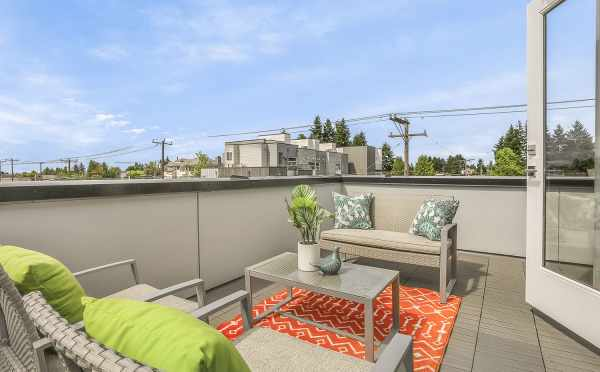 Roof Deck at 8364 14th Ave NW
