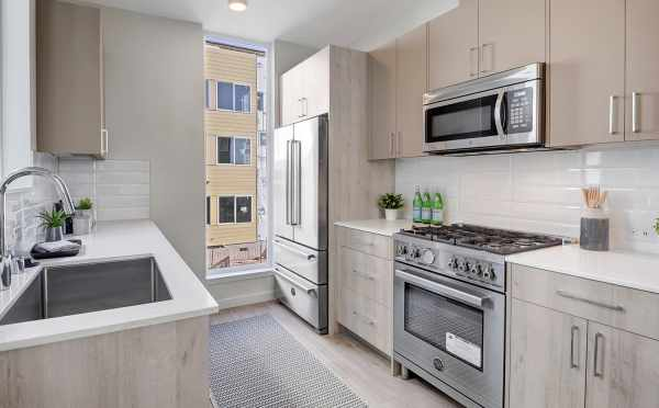 Kitchen in One of the Verde Towns 1 in Green Lake