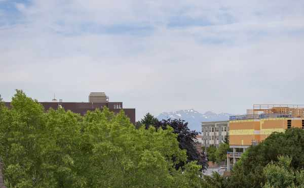 Mountain Views from the Roof Deck of The Wyn Townhomes