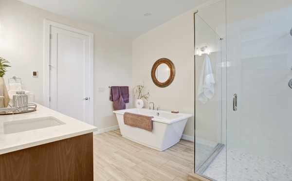 Master Bath in One of the Sheffield Park Homes
