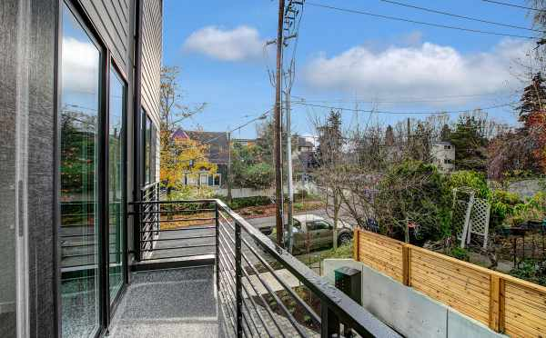 Back Deck at 201B 23rd Ave E