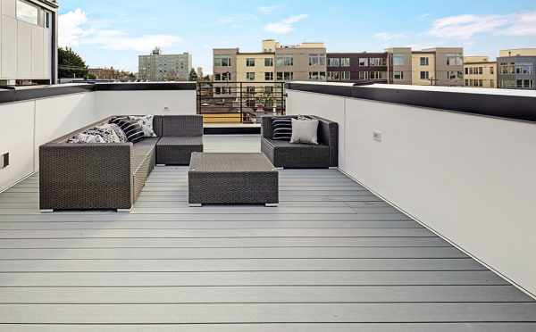 Roof Deck at 7219 5th Ave NE in Verde Towns 3