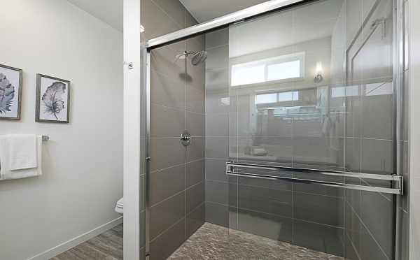 Master Bath Shower in 7528A 15th Ave NW, Townhome in Talta Ballard