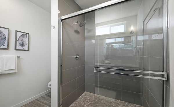 Master Bath Shower in 7528A 15th Ave NW, Townhome in Talta Ballard