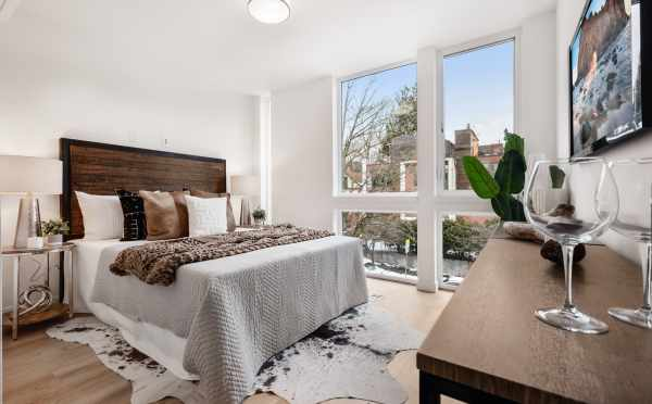 Owner's Suite at 1105F 14th Ave in Corazon Central by Isola Homes
