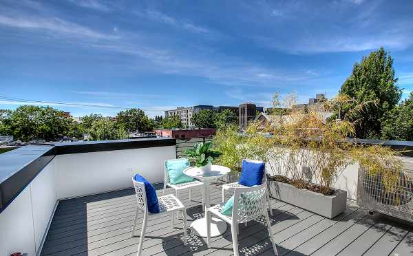 Roof Deck at 422F 10th Ave E