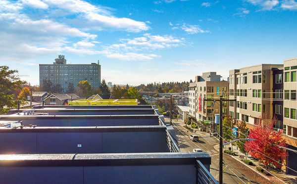 View from the Roof Decks at the Emory Townhomes in Green Lake