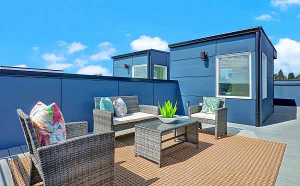 Rooftop Deck at the Lifa East Townhomes