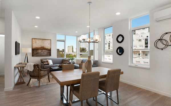 Dining Area and Living Room at 807 N 47th St of Sunstone at Fremont
