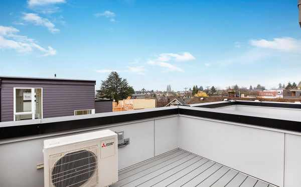 Roof Deck at 809B N 47th St