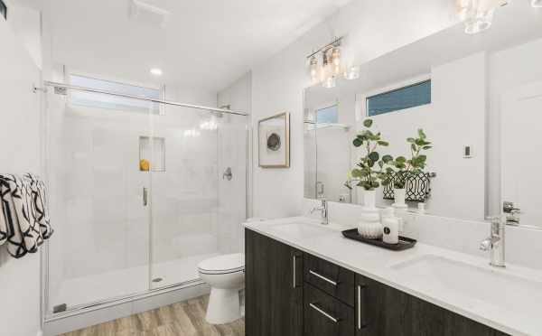 Owner's Suite Bathroom at 109A 22nd Ave E