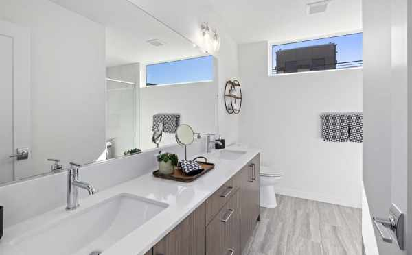 Owner's Suite Bathroom at 6309F 9th Ave NE