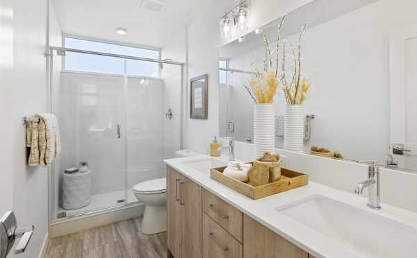 Owner's Suite Bathroom at 6317E 9th Ave NE