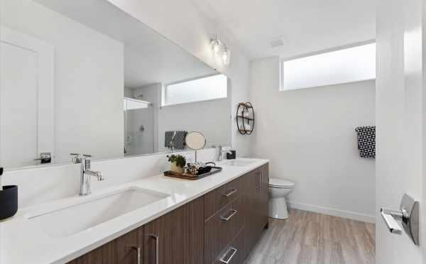 Owner's Suite Bathroom at 820 NE 63rd St