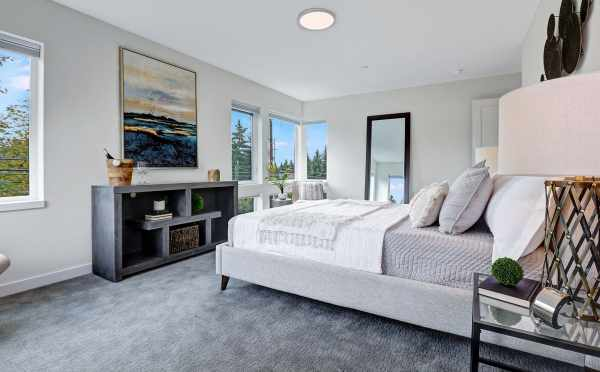 Master Bedroom in One of the Homes at Piccadilly Point in Kirkland Highlands
