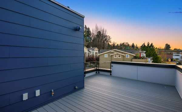 Roof Deck of 2506 Everett Ave E, one of the Baymont Townhomes in Montlake