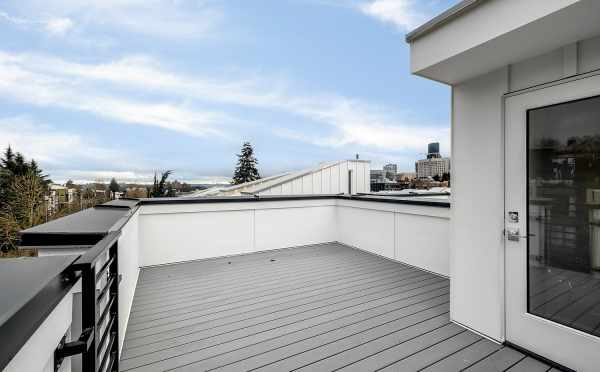 Roof Deck at 1113F 14th Ave