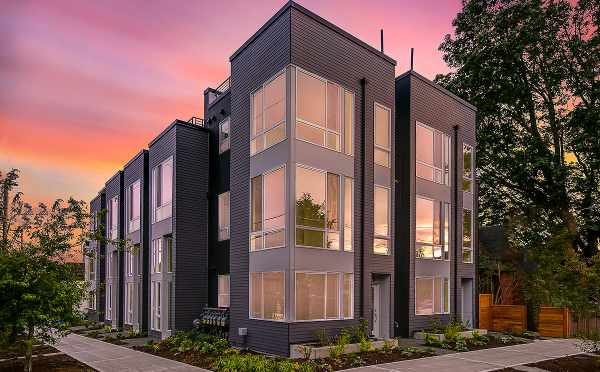 North Side of the Kai Townhomes in Ballard