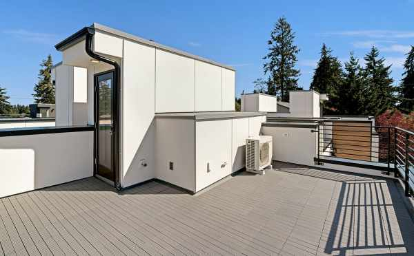 Rooftop Deck at 14339E Stone Ave N, One of the Maya Townhomes