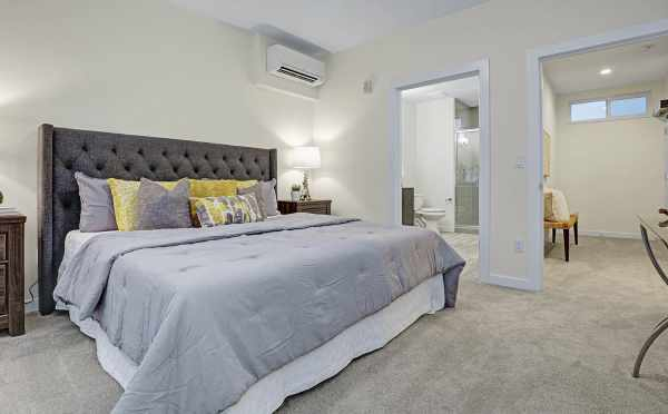 Master Bedroom with an En-Suite Bath at 1494 NW 75th Street