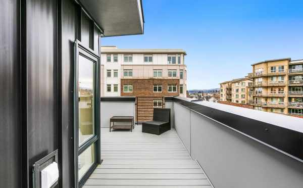 Roof Deck at 109A 22nd Ave E, One of the Thalia Townhomes by Isola Homes