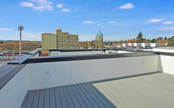 Roof Deck at 437D NE 73rd St